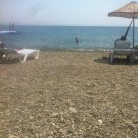 Photo taken at Havuzlu Plaj by Efe S. on 7/24/2015