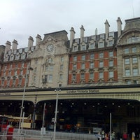Photo taken at London Victoria Railway Station (VIC) by Emerson L. on 5/13/2013