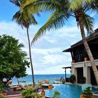 Photo taken at Seashell Resort Koh Tao by Theo P. on 9/7/2013