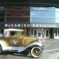 Снимок сделан в McCamish Pavilion пользователем Vu P. 9/19/2012