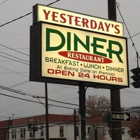 Photo taken at Yesterday's Diner by Anthony G. on 4/2/2013