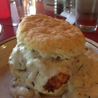 Photo taken at Denver Biscuit Company by Leslie C. on 6/15/2013