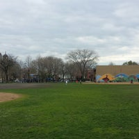 Photo taken at Chase Park Track by Andrew H. on 4/29/2014