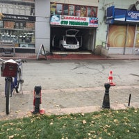Photo taken at Karaağaç Oto Yıkama by Sami A. on 11/15/2016