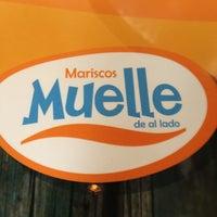 Photo taken at Muelle de al Lado by Priscila G. on 9/28/2012