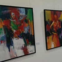 Photo taken at Mussawir Art Gallery by Miguel S. on 10/8/2013