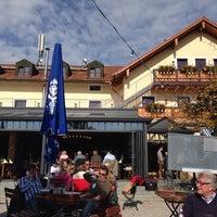 Photo taken at Gasthof zur Post Aufkirchen by Andreas S. on 10/20/2013