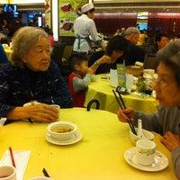 Photo taken at Tin Yu Seafood Restaurant  天悅海鮮酒家 by Cynthia F. on 4/3/2013