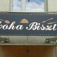 Photo taken at Moha bisztró by Robert T. on 4/24/2017