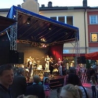 Photo taken at Salinplatz by Stephan B. on 6/26/2015