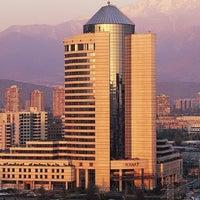 Photo taken at Hotel Santiago by Hyatt S. on 4/10/2014