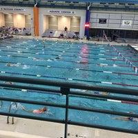 Photo taken at Nassau County Aquatic Center by Binky B. on 3/31/2016