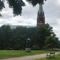 Photo taken at Uranienborgparken by Brynn S. on 7/3/2017