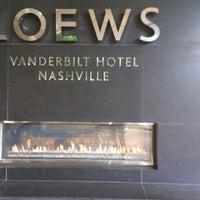 Photo taken at Loews Vanderbilt Hotel, Nashville by Ernest C. on 6/6/2013