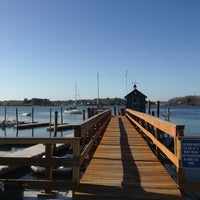 Photo taken at Portsmouth Yacht Club by Bill P. on 5/5/2013