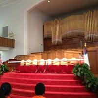 Photo taken at 16th Street Baptist Church by Kim N C. on 6/20/2013