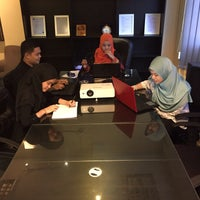 Photo taken at UIE Solutions (M) Sdn Bhd by Najah A. on 11/19/2015