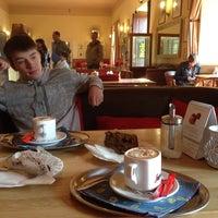 Photo taken at Cafe Custoza Jemniště by Mikhail P. on 3/14/2014