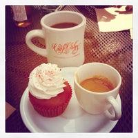Photo taken at Crushcakes Cupcakery & Crushcafe by Emily Catherine on 3/25/2013
