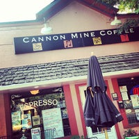 Photo taken at Cannon Mine Coffee by Colorado Card on 8/16/2013