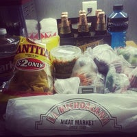 Photo taken at La Michoacana Meat Market by Michael B. on 5/8/2014