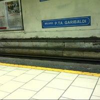 Photo taken at Passante Porta Garibaldi (Linee S) by Kalu A. on 3/6/2013