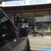 Photo taken at Donut King by Troy on 1/4/2014