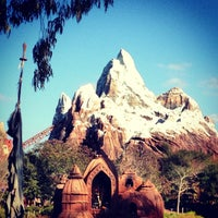Photo taken at Expedition Everest by Will B. on 1/1/2013