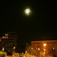 Photo taken at Piazza Gramsci by cristina t. on 10/17/2013