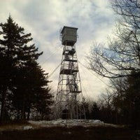 Photo taken at Green Mtn Fire Tower by Don F P. on 1/7/2012