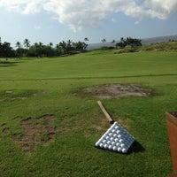 Photo taken at Mauna Kea Golf Course by Karen F. on 6/20/2013