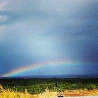 Photo taken at Waialea Bay by Karen F. on 4/5/2014