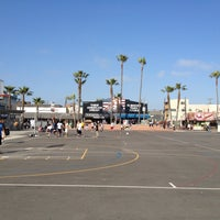 Photo taken at Venice Beach Basketball Courts by Sean N. on 4/29/2013