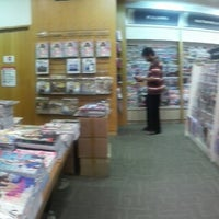 Photo taken at MPH Bookstore by Eizuwan E. on 5/4/2013