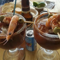 Photo taken at cocteleria pelicano's by J.L S. on 6/25/2016