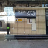 Photo taken at Milton Keynes Central Railway Station (MKC) by Pooh B. on 9/18/2012