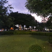 Photo taken at Chaaloem Phrakiat Park by vibul s. on 6/24/2017