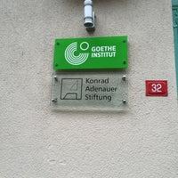 Photo taken at Goethe Institut by Şafak K. on 1/4/2015