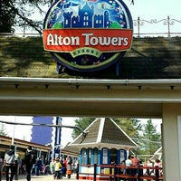Photo taken at Alton Towers by Zainab A. on 4/10/2015