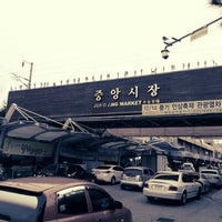 Photo taken at Gangneung Central Market by Kyung Jin D. on 9/15/2012