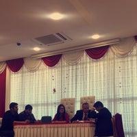 Photo taken at Kadirli Belediyesi Nikah Salonu by Sami Koca on 3/7/2016