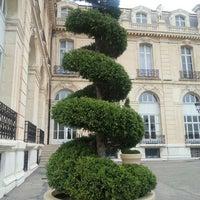 Photo taken at Aix-Marseille Université – Campus de Saint-Charles by Alex on 1/4/2016