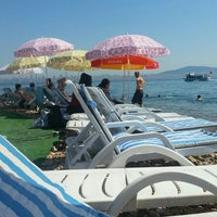 Photo taken at Kınalı Ada Plajı by Emine E. on 7/24/2016