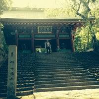 Photo taken at 妙義神社 by Yoshitaka K. on 5/17/2014