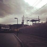 Photo taken at Tobu-Takezawa Station (TJ34) by Yoshitaka K. on 3/14/2014