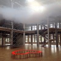 Photo taken at ZKM | Zentrum für Kunst und Medien by Pepe T. on 9/3/2015
