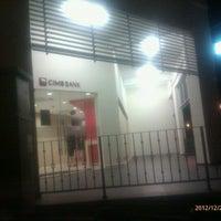 Photo taken at CIMB Bank by Rostam Affendi M. on 12/23/2012