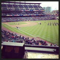 Photo taken at Mountain Ranch Club at Coors Field by Zach K. on 5/4/2013