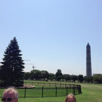 Photo taken at The Ellipse — President's Park South by Farzad F. on 7/25/2013