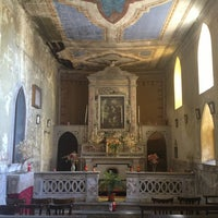 Photo taken at Cappella di S. Rocco by Carlo N. on 8/16/2013